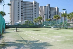 Pelican Pointe's tennis court